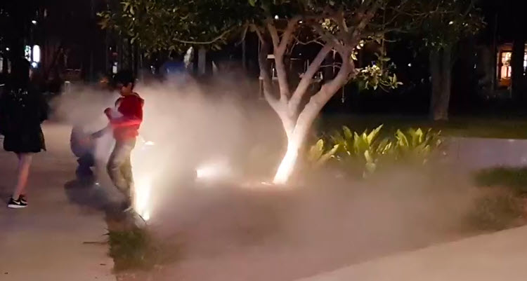 misting effects